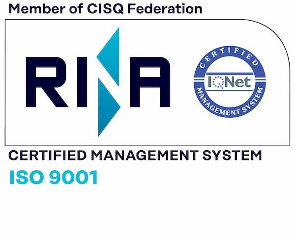 Certificati RINA - Iso 9001